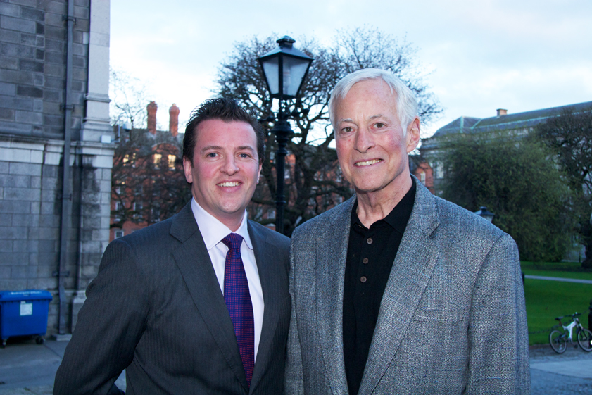 Brian Tracy in Trinity Collage