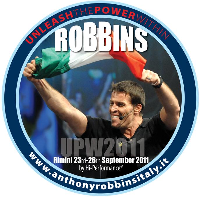 Tony Robbins 2011 Rimini Italy