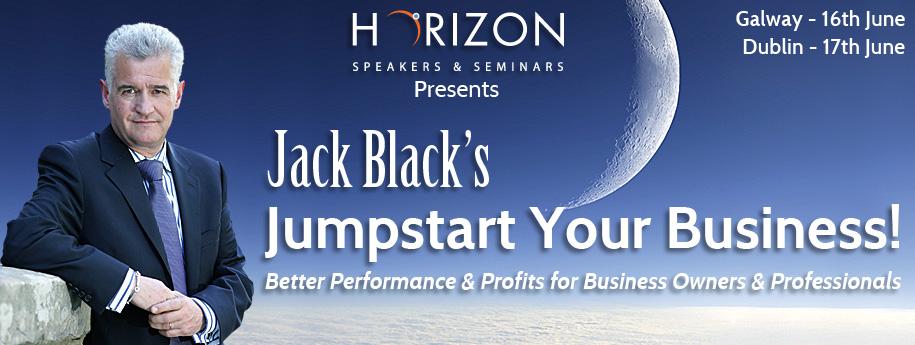 Jack Black's – Jumpstart Your Business! @ D4 Berkeley Court Hotel, D4 | Dublin | Ireland