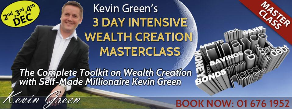 3 Day Intensive  Wealth Creation Masterclass @ O'Callaghan Alexander Hotel   Dublin   Ireland